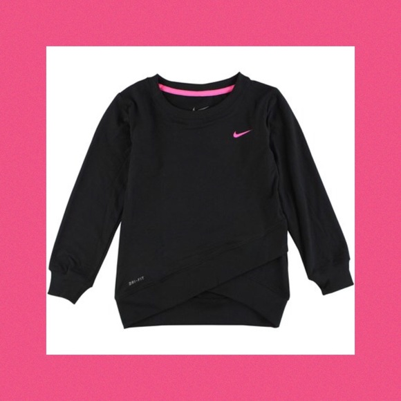5060e2dccd Nike Shirts & Tops | Black Dri Fit Sport Crossover Sweat Shirt 4t ...